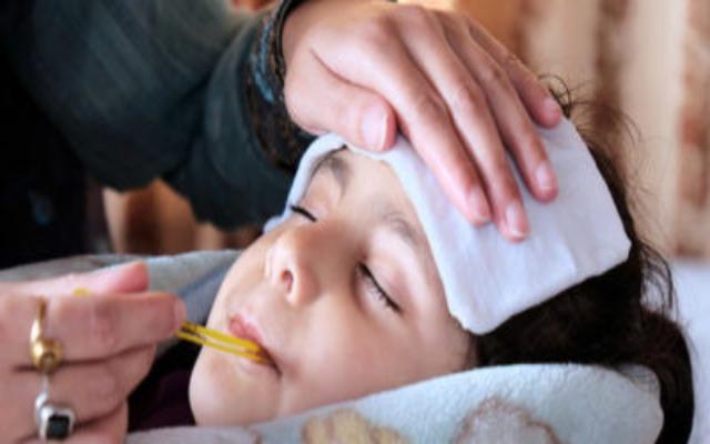 salmonelosis en niños