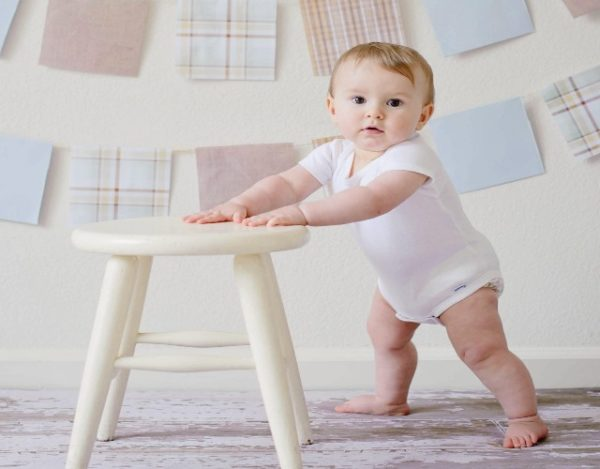 Desarrollo psicomotor de los niños de 6 a 9 meses
