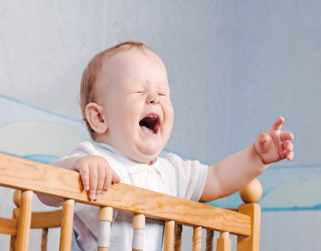 angustia de separación de los bebés