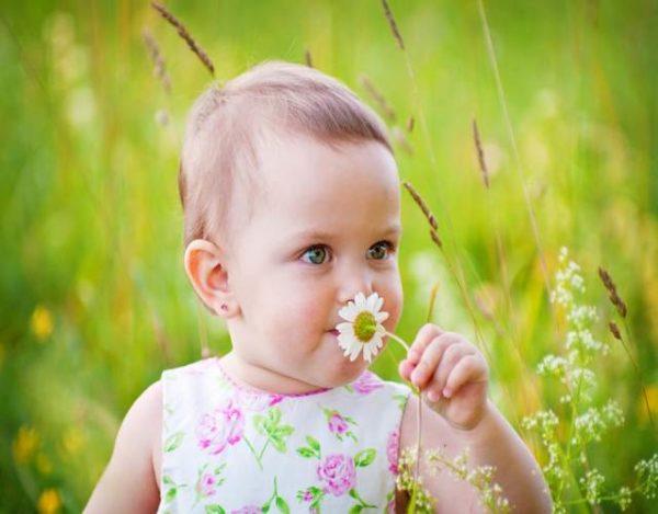 Desarrollo del olfato en bebés
