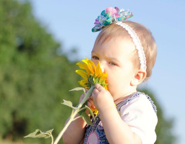 olfato en bebés y su desarrollo