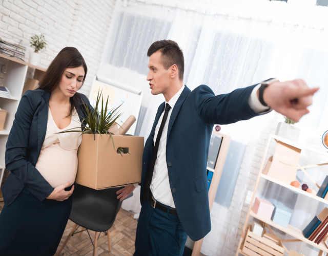 Una mujer embarazada puede ser despedida