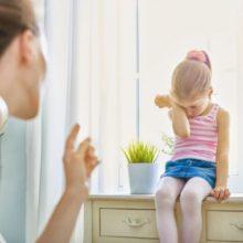 regañar a un niño de forma positiva