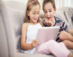 efectos del uso de la tablet en bebés y niños pequeños