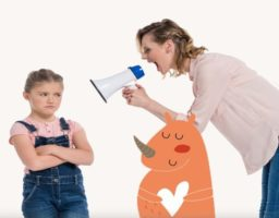 La técnica del Rinoceronte Naranja para evitar gritar
