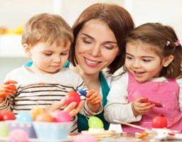 Disfrutar la pascua con los niños