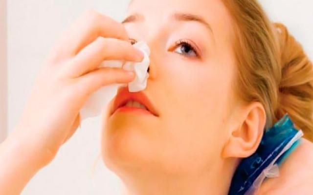 Hemorragias nasales en el embarazo