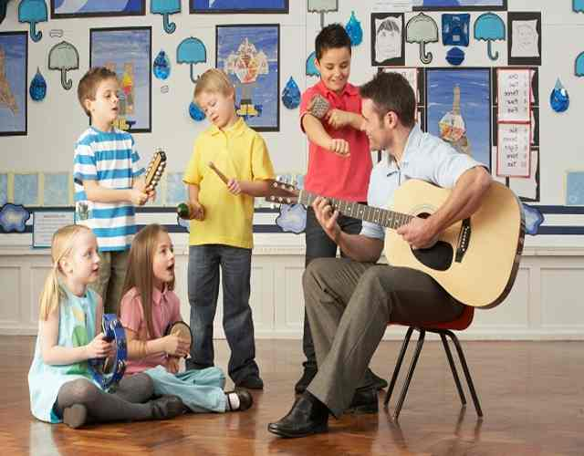 7 actividades con música para niños