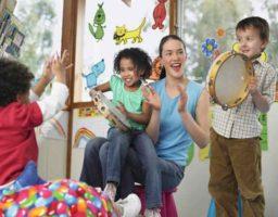 actividades con música para niños