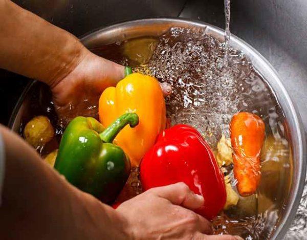 Cómo extremar la higiene de los vegetales