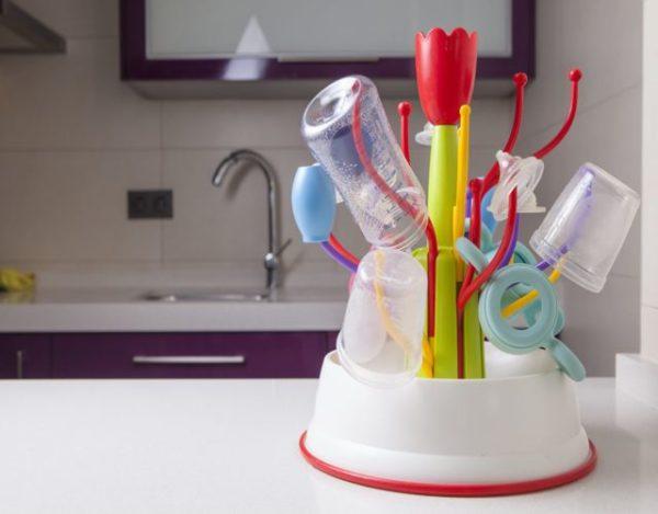 Cómo mantener la higiene en los artículos del bebé