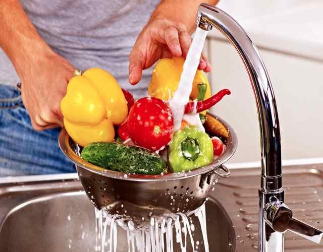 Cómo realizar la higiene de los vegetales