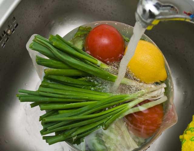 higiene de los vegetales
