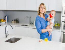 higiene del hogar cuando hay un bebé