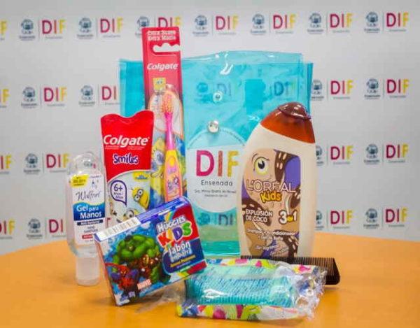 Productos de higiene diaria para niños
