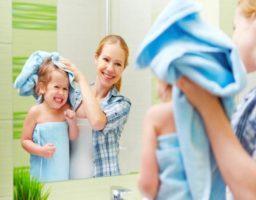 trucos para la buena higiene en la infancia