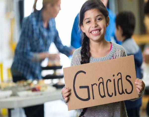 Cómo enseñar a los niños a dar gracias