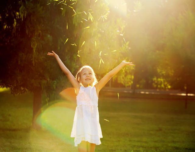 Cómo enseñar a los niños a dar las gracias