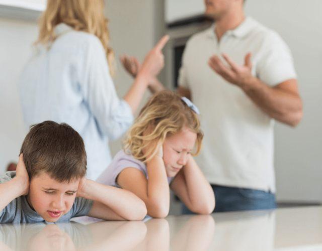 Efectos de las peleas de los padres en los hijos