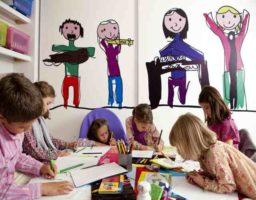 Etapa de la pandilla o realismo en desarrollo del dibujo en el niño